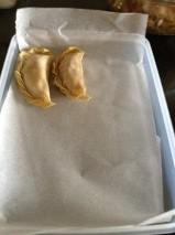 dumpling wax paper